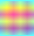 triangle glowing pattern seamless vector image