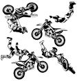 Motocross freestyle vector | Price: 1 Credit (USD $1)