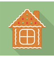 Gingerbread House vector image vector image