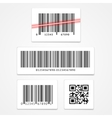 set barcode vector image