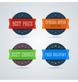 Best price badge vector image