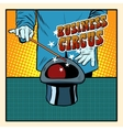 Business magic hat circus vector image