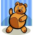 Cartoon Cute Teddy Bear vector image vector image