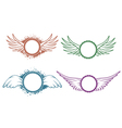 Labels With Wings vector image vector image