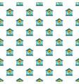 protected home pattern seamless vector image