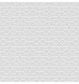 Delicate grey Seamless Flower Pattern in Oriental vector image