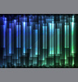 blue green speed bar overlap in dark background vector image
