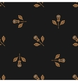 golden rose seamless pattern minimal design vector image vector image