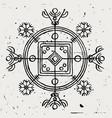 hulinhjalmur symbol disguise vector image