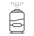 new humidifier icon outline style vector image vector image