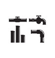 plumbing icon design template isolated vector image vector image