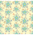 Seamless colorful background with spring flowers vector image vector image