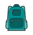 travel backpack icon image vector image vector image