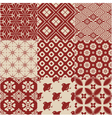 vintage japanese traditional pattern vector image vector image