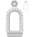 window arch vector image vector image