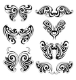 Wing shapes vector image vector image