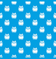 brassiere sport pattern seamless blue vector image vector image