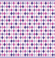 seamless argyle diamond background purple pink vector image vector image