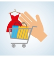 shopping design ecommerce icon online concept