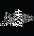 The ins and outs of adware spyware removal text