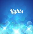 Blue Violet Bokeh Abstract Light Background vector image