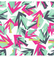 a seamless graffiti pattern for your design vector image vector image