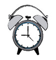 alarm clock wake up time ring icon vector image vector image