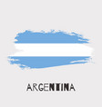 argentina watercolor national country flag icon vector image