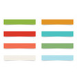 color stick note vector image vector image