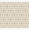 modern luxury geometrical ornaments with lines vector image vector image