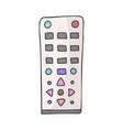 remote control doodle color vector image vector image