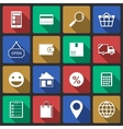Set of internet shopping icons vector image vector image