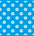 coins lao kip pattern seamless blue vector image vector image