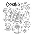 Cooking chalkboard drawing