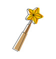 magic wand icon vector image vector image