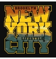 New York Sport T-shirt Design vector image vector image