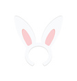 Rabbit ears vector image