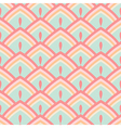 Seamless abstract geometric pattern pastel vector image vector image