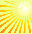 shining sun rays backgroung image vector image