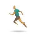 Sports man running vector image vector image