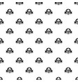 west hat pattern seamless vector image vector image