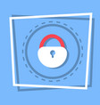 lock icon security protection concept vector image