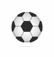 football ball soccer ball icon with shadow vector image vector image
