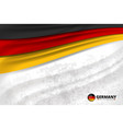 germany flag concept background vector image