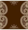 Mehndi frames vector image vector image