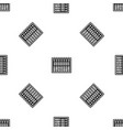 music equalizer console pattern seamless black vector image vector image