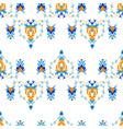 oriental pattern with arabesque and floral vector image vector image