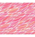 Pink doodle hair seamless pattern vector image