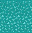 seamless hipster geometric pattern pinwheel jade vector image vector image