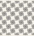 seamless spiral shapes pattern modern stylish vector image